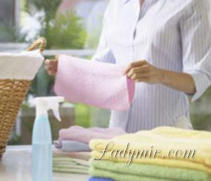 Как удалить пятно от утюга с ткани