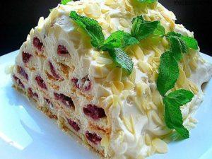 Рецепты вкусных домашних тортов