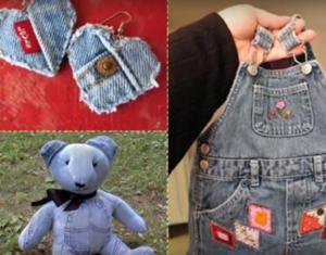 Идеи из старых джинсов своими руками