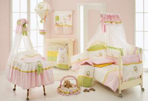 Постельное белье для новорожденных детей
