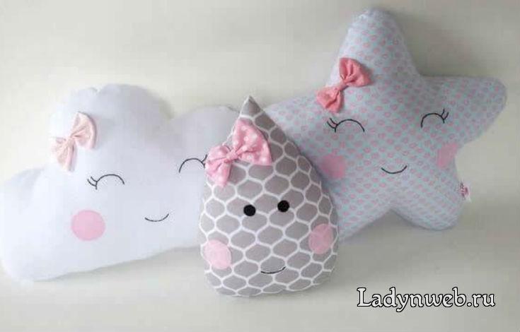 Детские подушки своими руками выкройки
