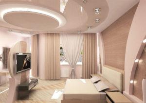 Натяжные потолки: варианты дизайна