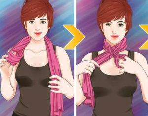 10 способов красиво завязать шарф